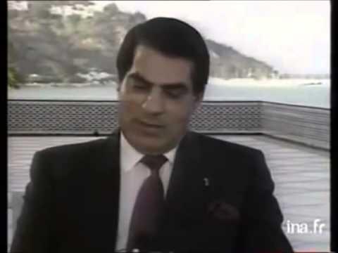 Interview Zine El Abidine Ben Ali en 1988