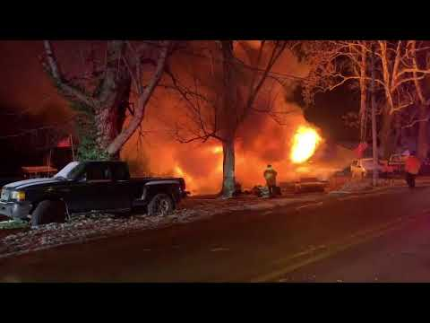 Authorities: 6 missing after Indiana house fire