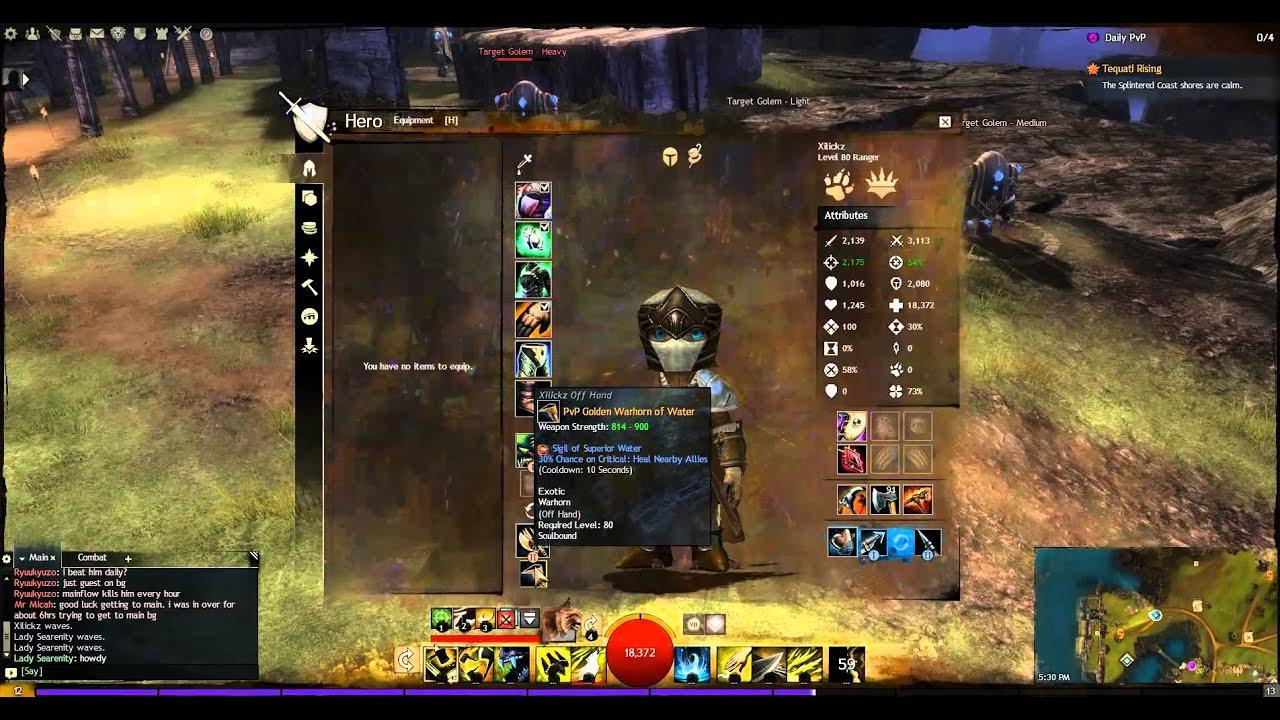 Guild Wars  Hunter Build Pvp
