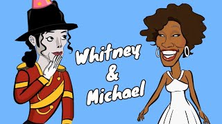 Whitney Houston meets Michael Jackson in heaven!