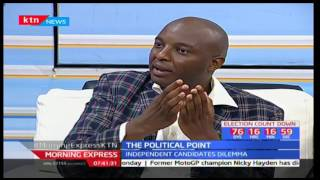 Are the Independent candidates against the law? Political point