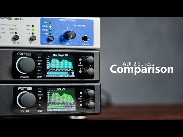 ADI-2 Converter Series Comparison - Which device is best for you?