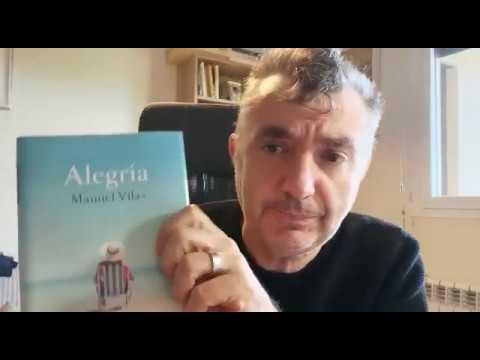 """Día del Libro 2020. Manuel Vila presenta su novela """"Alegría"""" - YouTube"""