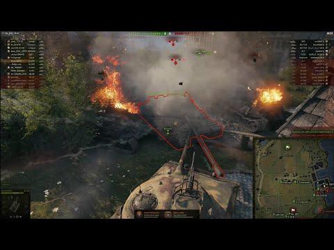 World Of Tanks Наступление Клан R-TS (Rockets) Vs Клан ST-Q(STATUS QUO), Победа