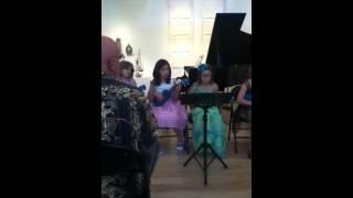 Ukulele concert Gianna Oppedisano