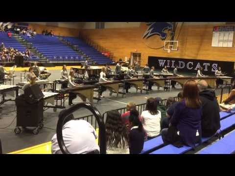 Tomball High School Band 2016 - Winter Percussion Regionals