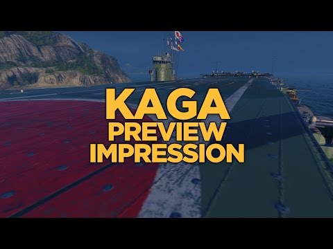 World of Warships - Kaga Preview Impression