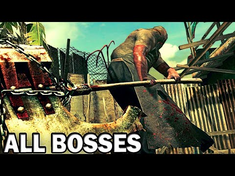 Resident Evil 5 - All Bosses (With Cutscenes) HD