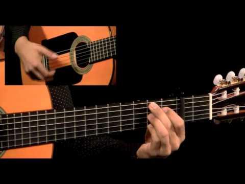 New World Flamenco - #3 Arpeggio Pattern - Guitar Lesson - Tierra Negra