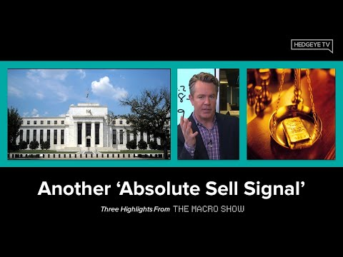 The Macro Show Highlights: Another 'Absolute Sell Signal'