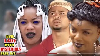 Evil Lady With Mysterious Blue Eyes 3&4  - 2018 Latest Nigerian Nollywood Movie/African Movie