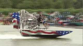 American Airboats Clover Race At Thunder On The Loup 2012