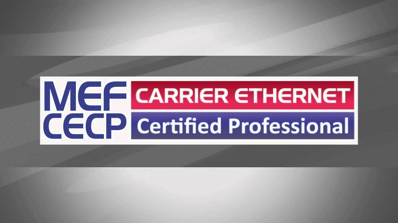 Mef Carrier Ethernet Study Guide For Mef Cecp Exam Youtube