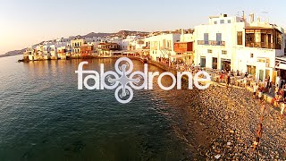 fab drone aerial view of Mykonos island – Cyclades #Visit Greece