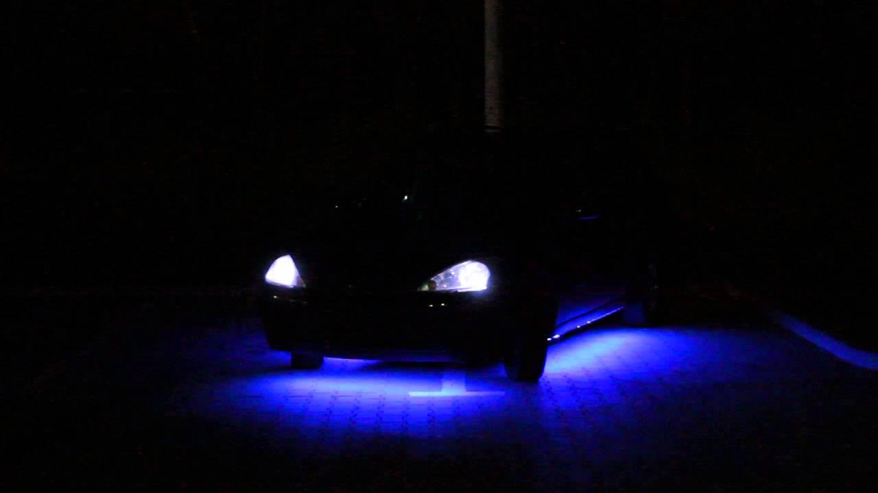 Podświetlenie podwozia samochodu