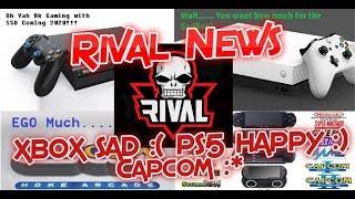 RIVAL NEWS: Xbox One S All Digital Edition, Sony Playstation 5 News & Hype, Capcom Home Arcade