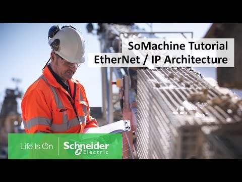 How To Program An EtherNet/IP Architecture For Modicon Controllers In SoMachine | Schneider Electric