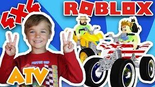 I GOT MY AMERICAN 4x4 ATV in ROBLOX VEHICLE SIMULATOR   DRAG RACES   CAR STUNTS