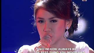 sarah geronimo sings best thing i ever had on asap