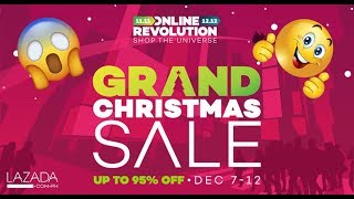 Quick Tips On How To Avail 12 Pesos Items From Lazada Grand Christmas Sale 2017 (CLOSE)