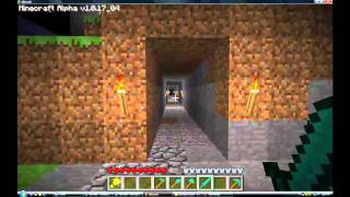 Minecraft Alpha - Huge Castle, Cool house, a pyramid and much more!