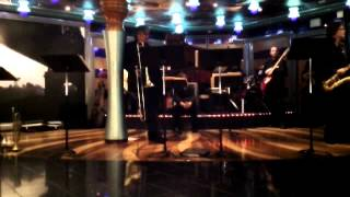the awkward Carnival Miracle Big Band interruption