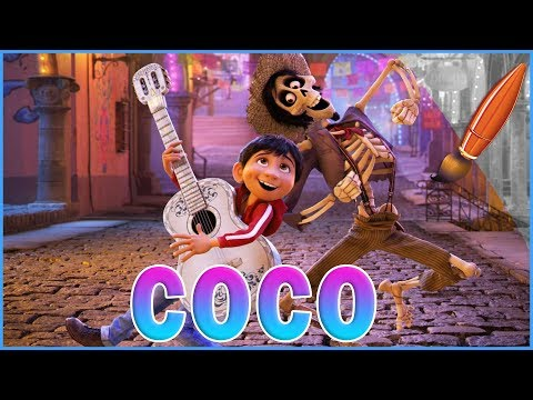 Disney Pixar Coco Coloring Miguel & Hector - Kids Coloring Book | Coloring Pages for Children