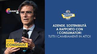 Aziende, sostenibilità e rapporto con i consumatori: l'intervista a Luigi Consiglio