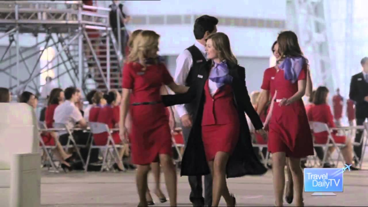 commercial Virgin airlines