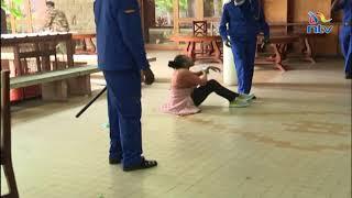 Police caught on camera beating up Mlango Kubwa MCA Patricia Mutheu | VIDEO