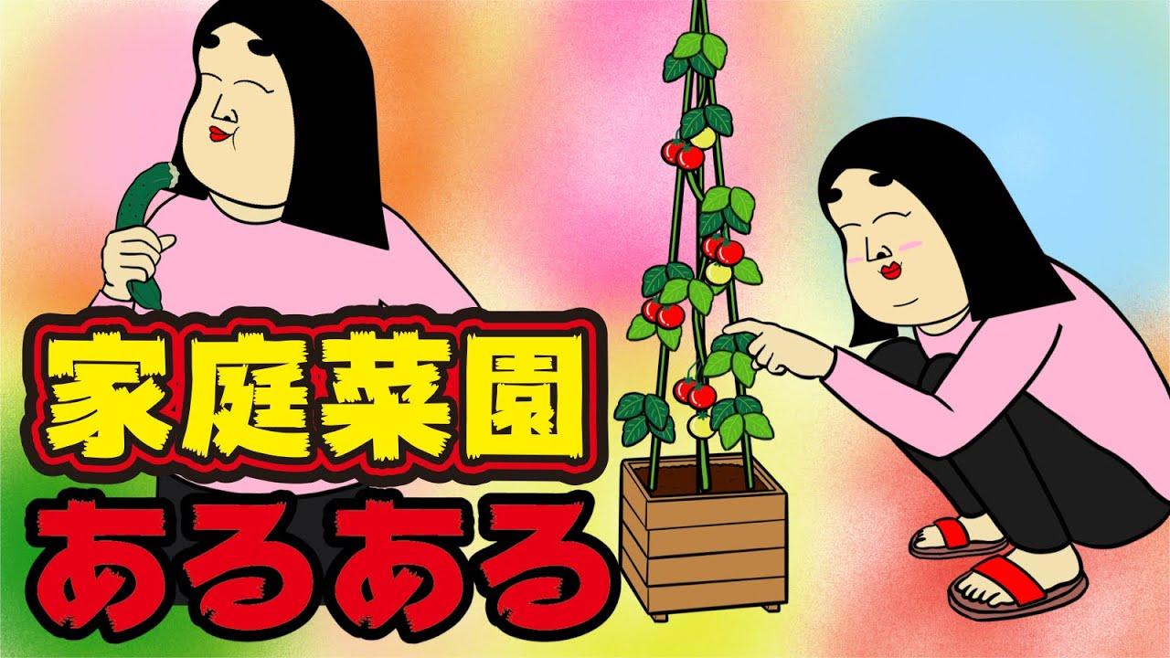【悲劇】家庭菜園でありがちなこと【漫画動画】