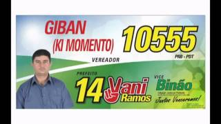 Giban (Ki Momento) Nº10.555 P/Vereador