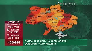 Коронавірус в Украі ні статистика за 28 листопада