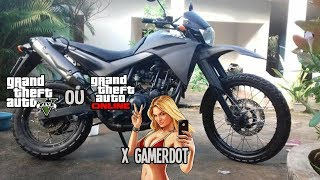 COMO FAZER A MEIOTA XT660 NO GTAV ‹ X GamerDot ›