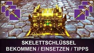 Destiny: Skelettschlüssel / Strike Schlüssel (Deutsch/German)