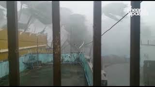 Extremely severe' cyclone Fani makes landfall in Odisha's Puri