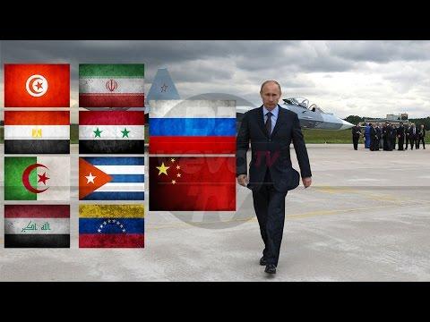 Algeria, Russia, Iran, Iraq, Syria, China, Tunisia, Egypte, Venezuela, Cuba