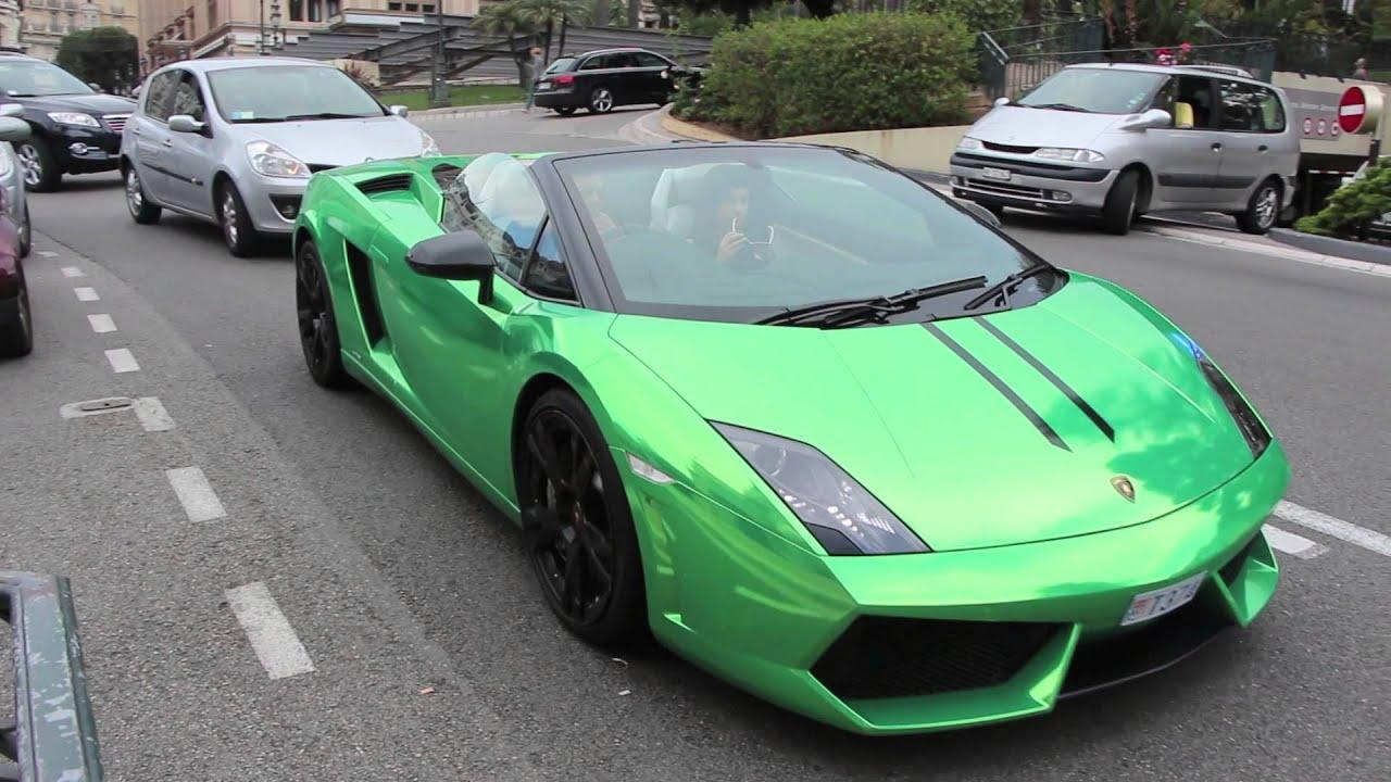 chrome green lamborghini gallardo lp560 4 spyder youtube - Lamborghini Gallardo Spyder Green