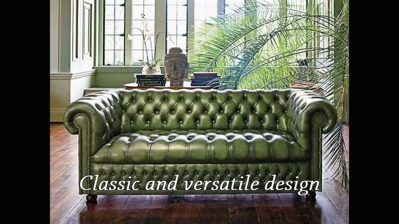 How to make chesterfield sofa. Video course. DIY chesterfield. - YouTube
