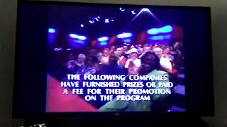 Jeopardy! Season 14 Credits (7/3/1998)