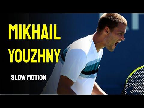 Mikhail Youzhny Slow Motion - Cincinnati Masters 2014