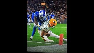 "Lions @ Packers - The ""TD"" That Was Clearly NOT a TD!!"
