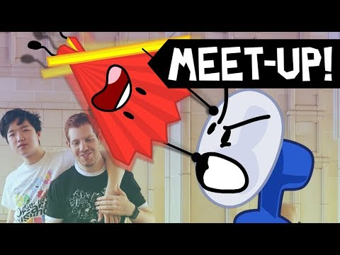 BFDI and II Finally Cross Over (L.A. MEETUP ON 6/24)