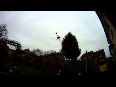 Arducopter 2.9.1 Test Flight With Altitude Hold And Loiter