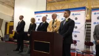 Larry Csonka Hometown Press Conference