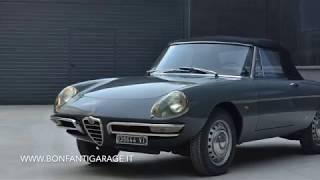 """Alfa Romeo Spider 1600 """"Duetto"""" (1966) - Bonfanti Garage"""