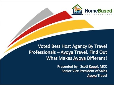 Voted Best Host Agency By Travel Professionals   Avoya Travel®  Find Out What Makes Avoya Different!
