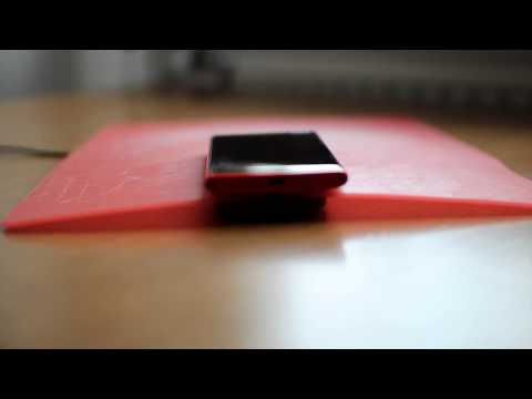Testing Qi Wireless Charging through Different Materials