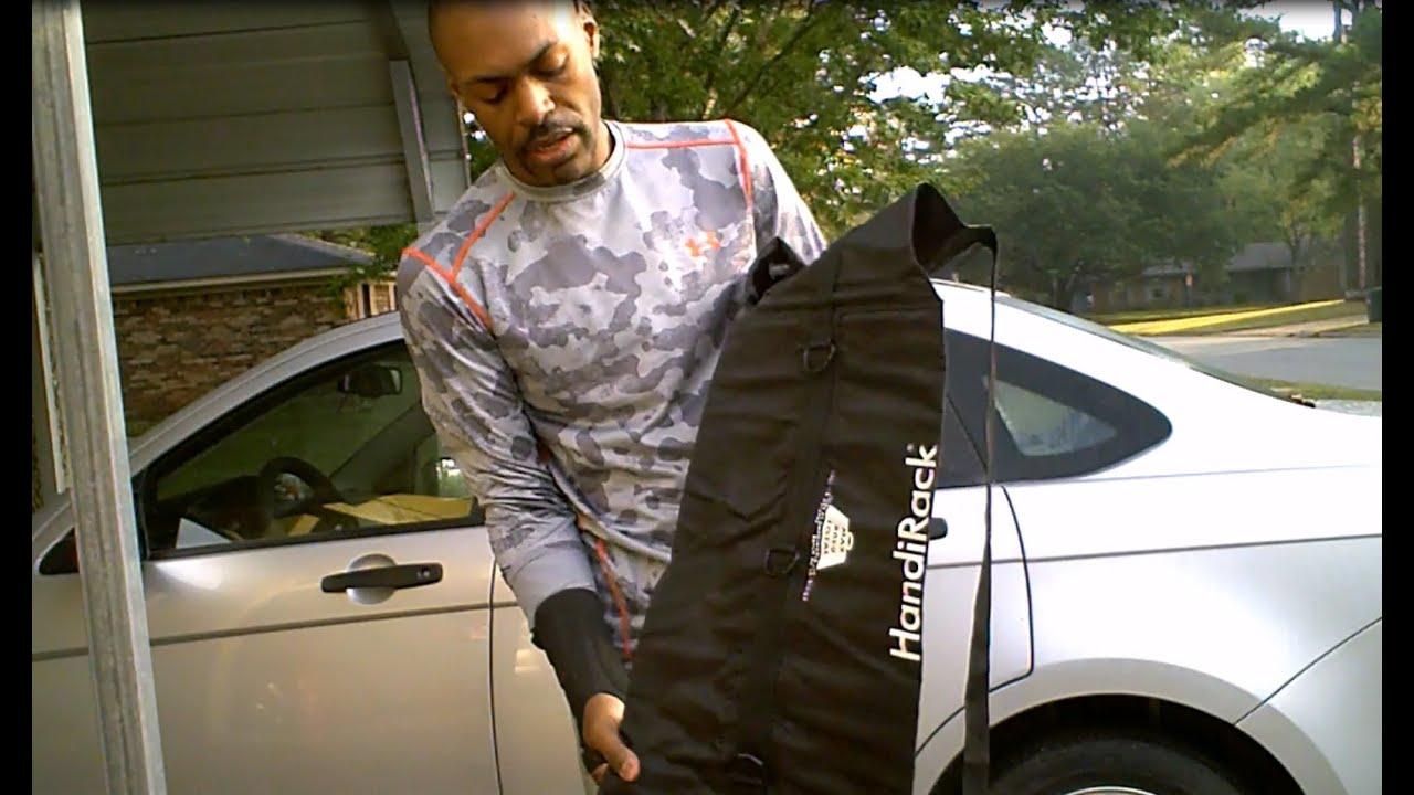 New Gear Malone Handirack Inflatable Roof Rack Youtube