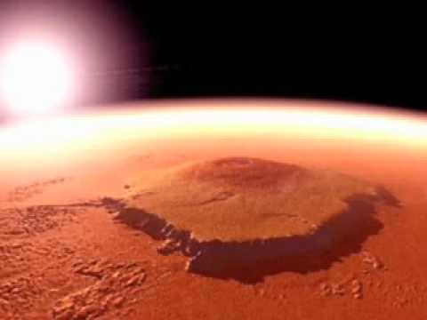 The Dusty Horizon Of Olympus Mons